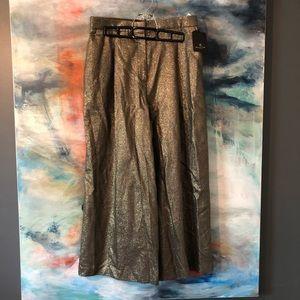 Massimo Dutti Palladio cropped pants